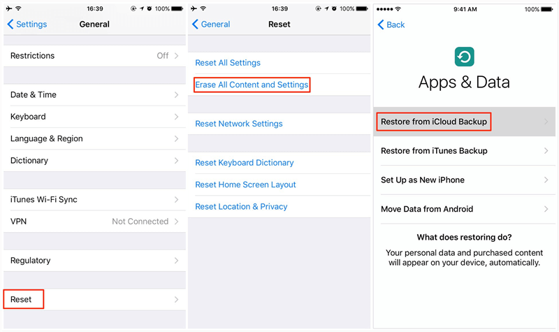 How to Transfer Data from iPhone to iPhone with iCloud Backup