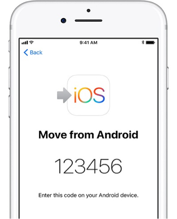 How to Transfer Everything from Android to iPhone via Move to iOS - Step 3