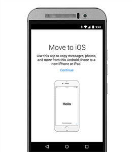 Download Move to iOS on Your Android
