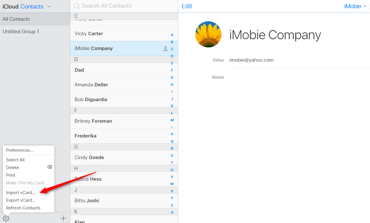 How to Transfer Contacts from Android to iPad via iCloud