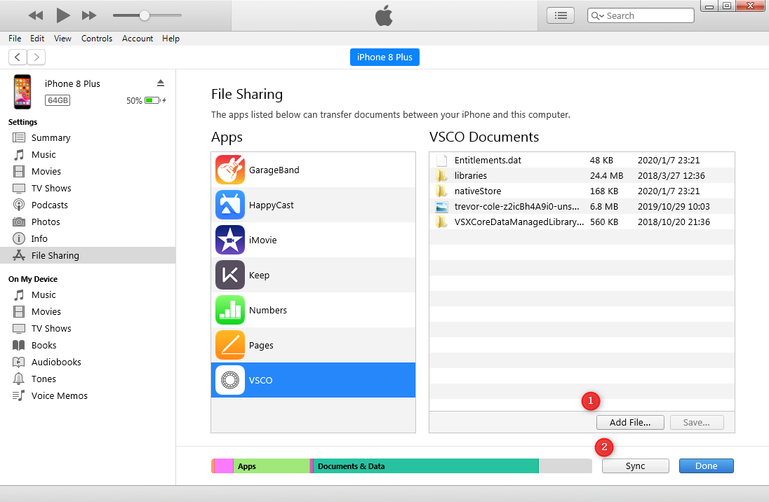 Transfer Files from External Hard Drive to iPad with iTunes