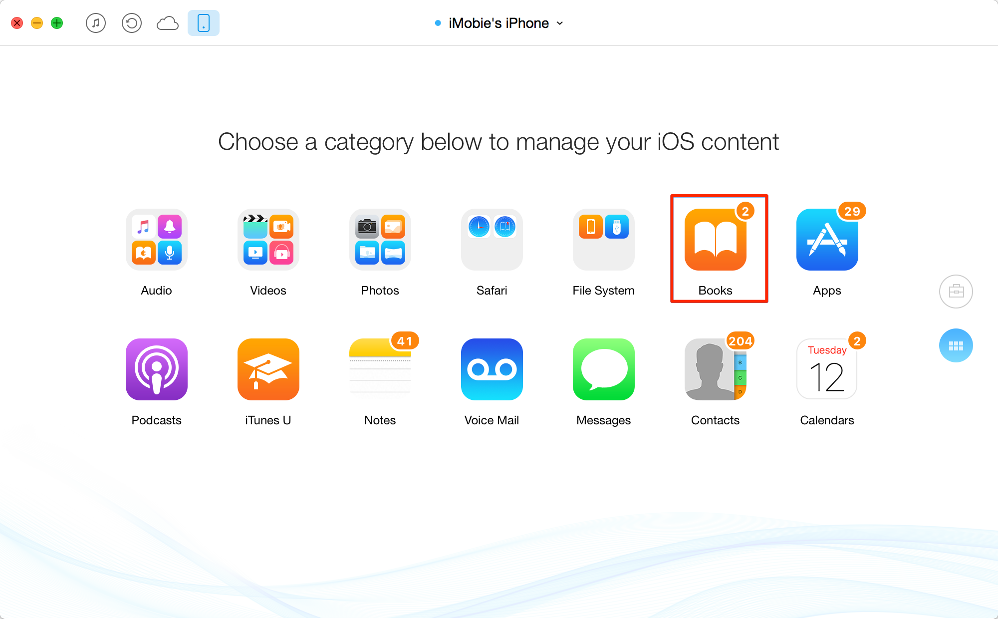 How to Transfer Books from Flash Drive to iPhone/iPad – Step 1