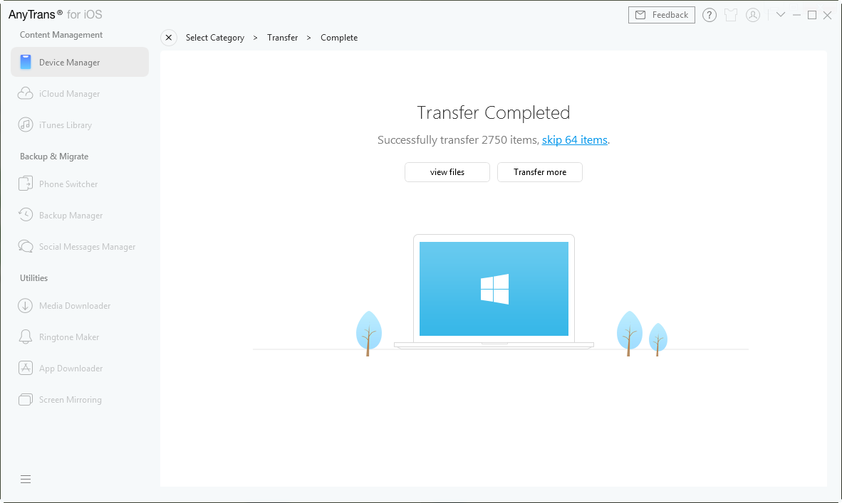 iPad to PC Transfer: Transfer Files from iPad to Windows PC
