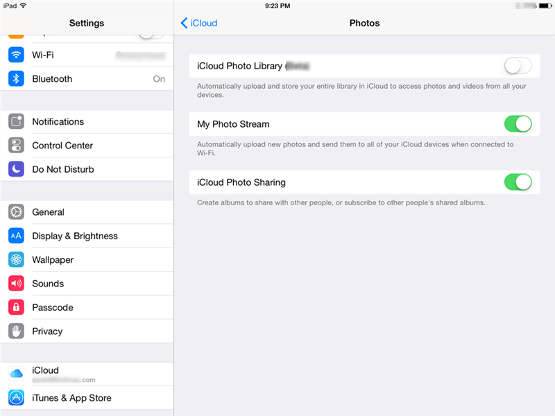 Transfer Files from iPad to PC with iCloud