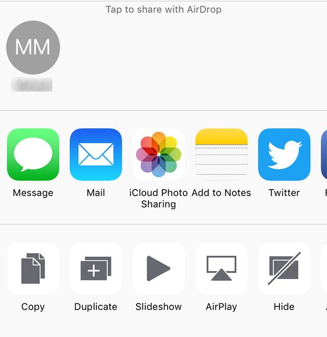 Use AirDrop to transfer files on the iPhone