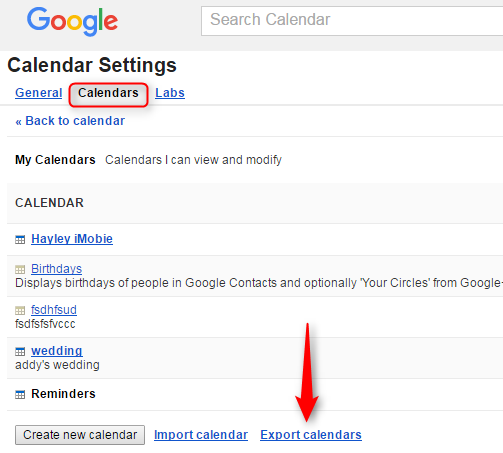 How to Transfer Google Calendar to iCloud - Step 2