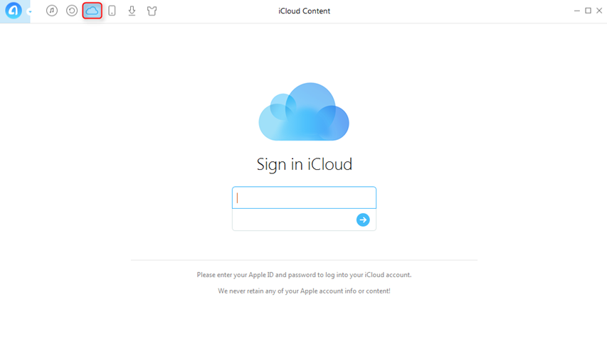 How to Transfer iCloud Calendar to Another iCloud Account - Step 1