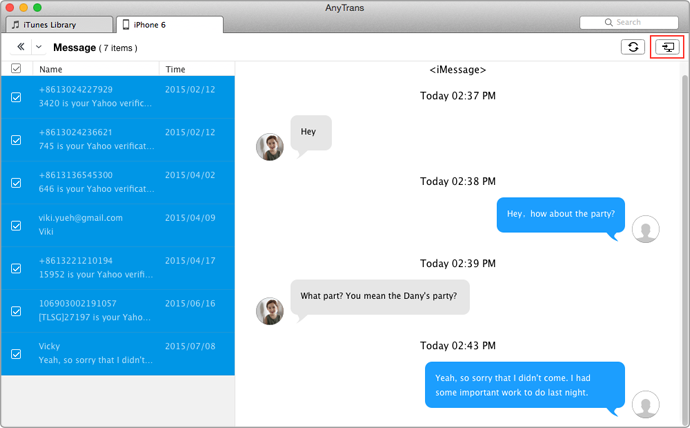 imessage mac os