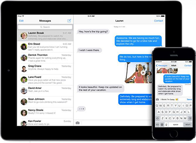 Transfer iMessages from iPad to iPhone
