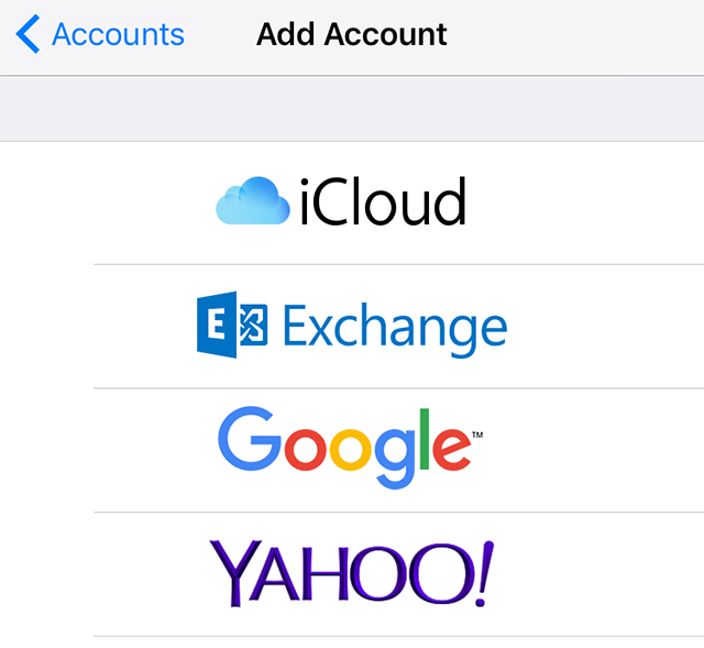 Link your Google account to your iPhone