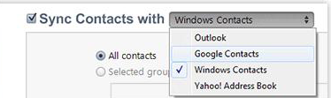 Sync iPhone contacts with Google using iTunes