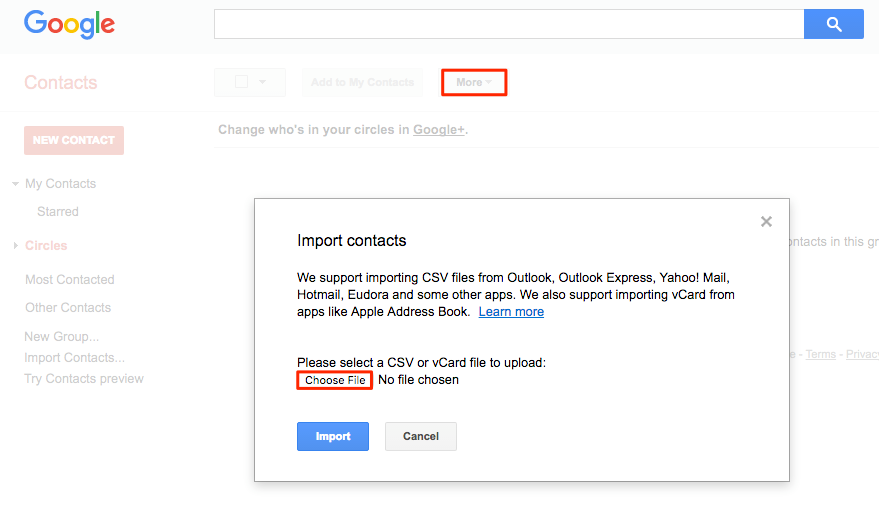 Transfer iPhone Contacts to Gmail Account