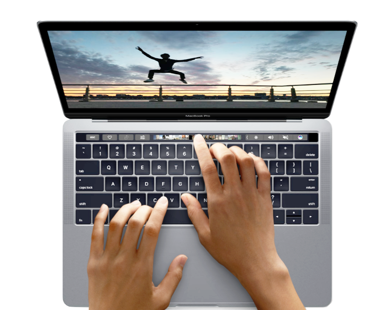 MacBook Pro 2016 - Image from Apple