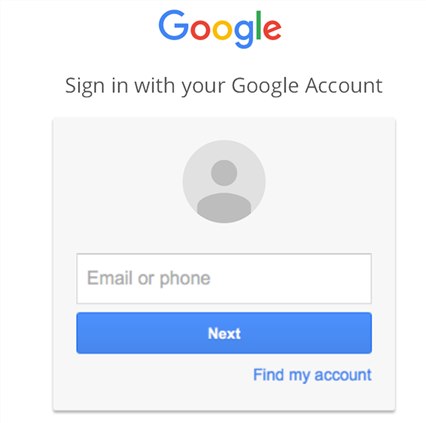 Log-in using a Google account to the Music Manager app