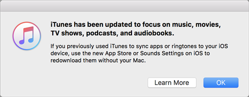iTunes No Focusing on Ringtone Any More