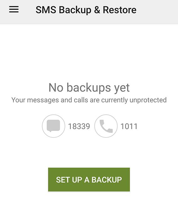 Make A Messages Backup