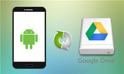 Transfer Music from Android to Android Google Drive