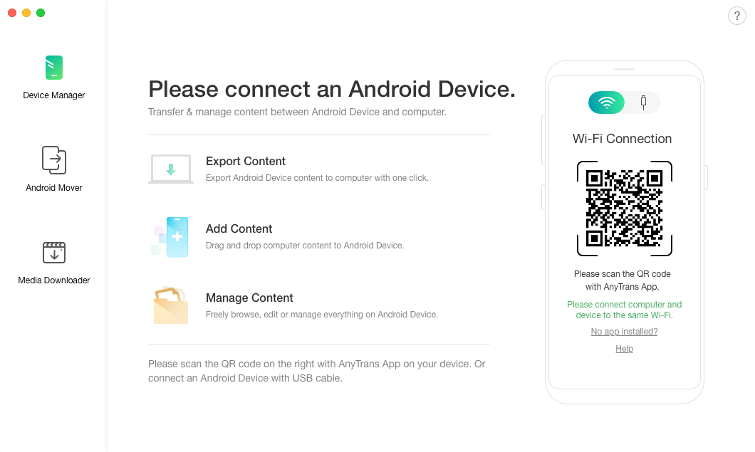 Plug-in your Android phone to your computer