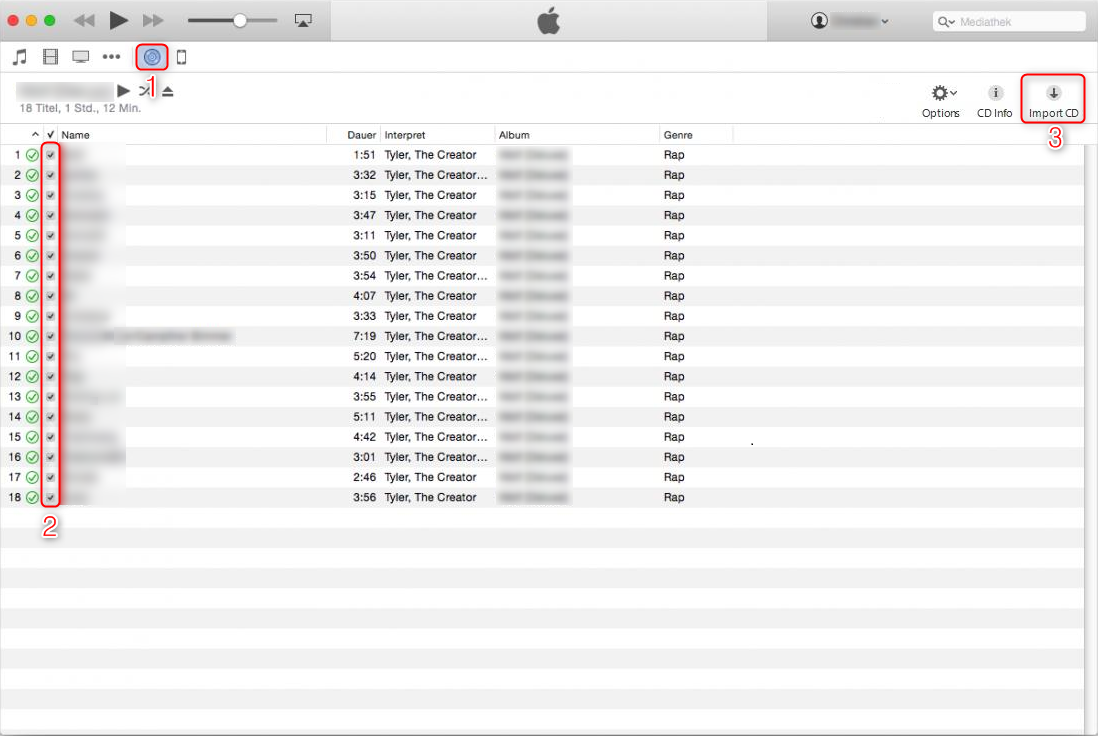 How to Transfer Music from CD to iTunes