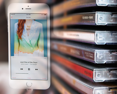 Transfer Music from CD to iPhone