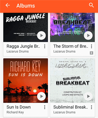 Access iPhone Music in Google Play Music on Android