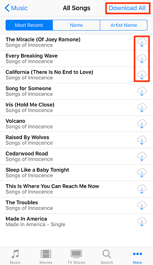 Get Music on New iPhone with iTunes Store