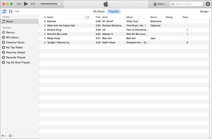 Export Music from iTunes to USB or Flash Drive