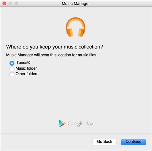Upload Mac Music to Google Play Music