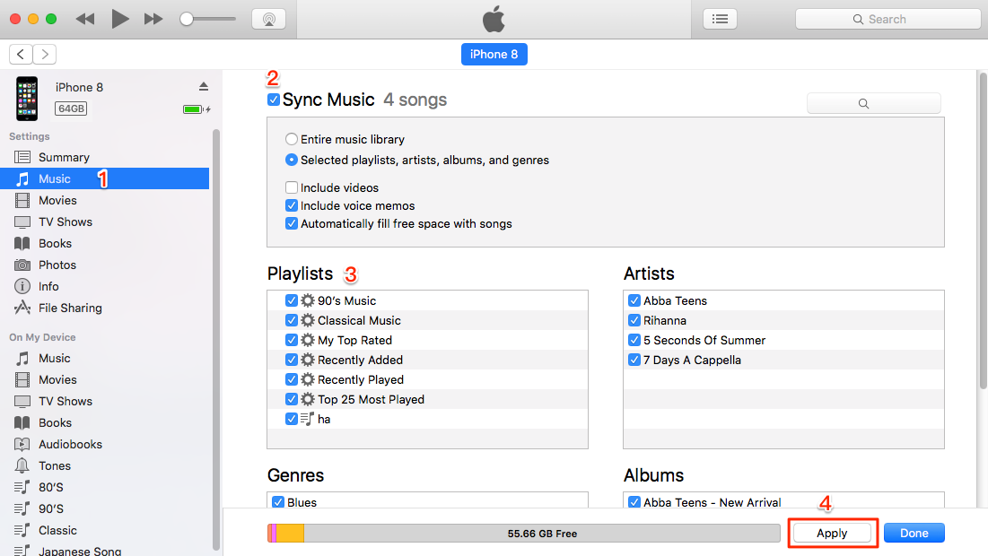 How to Put Music on iPod with iTunes - Step 2