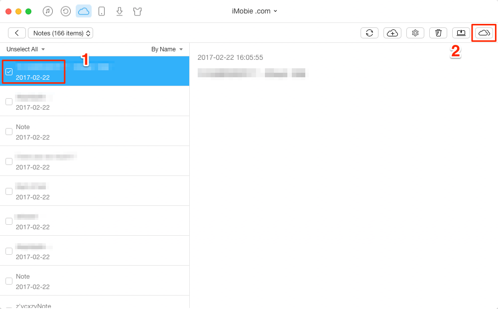 Move Notes from One iCloud Account to Another