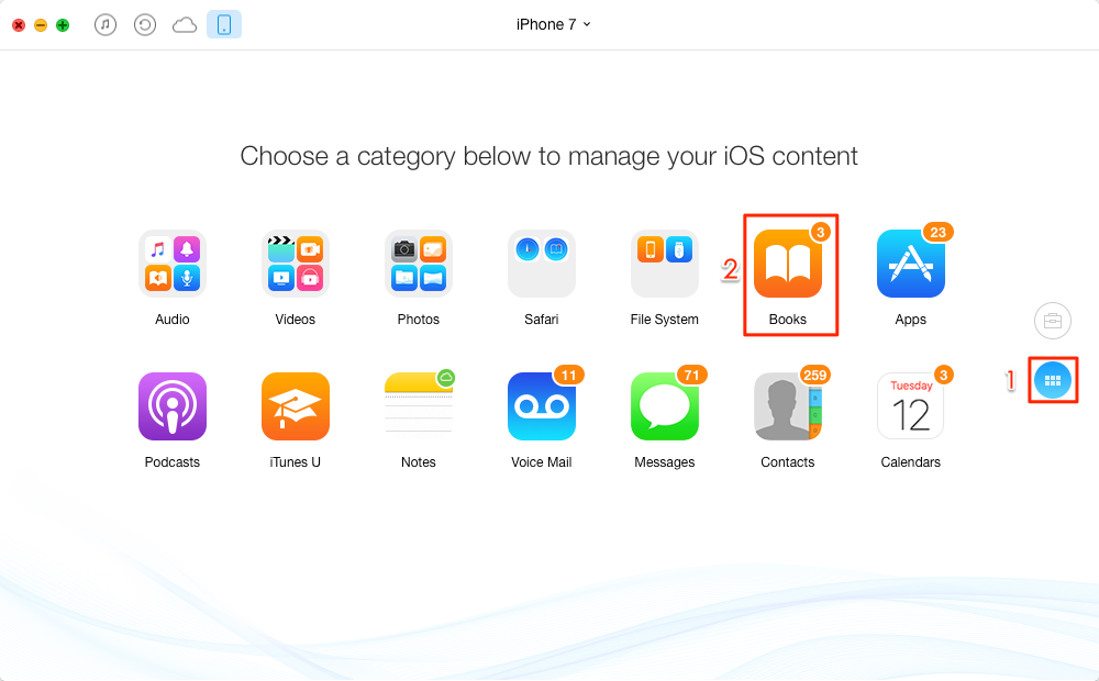How to Transfer PDF Files to Your iPhone - Step 1