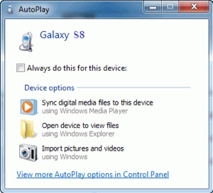 How to Copy Photos from Android to PC via AutoPlay