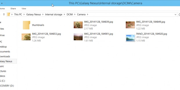 How to Download Photos from Android to PC via File Explorer