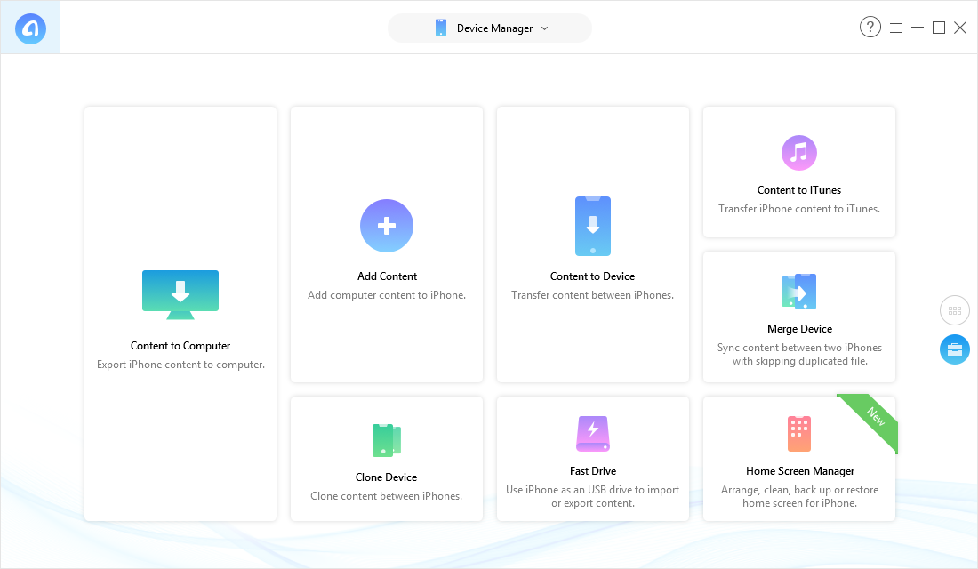 How to Transfer Photos from Computer to iPhone 6/6s (Plus) – Step 1