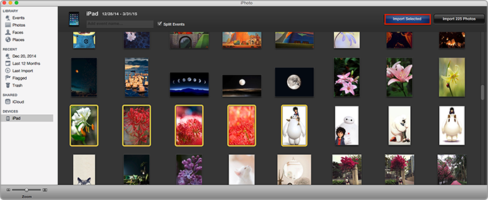 How to Use iPhoto to Transfer Photos from iPad Air/iPad mini to Mac