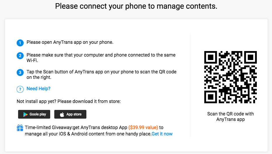 How to Download Photos from iPhone X/8/XS (Max)/XR to Computer Wirelessly