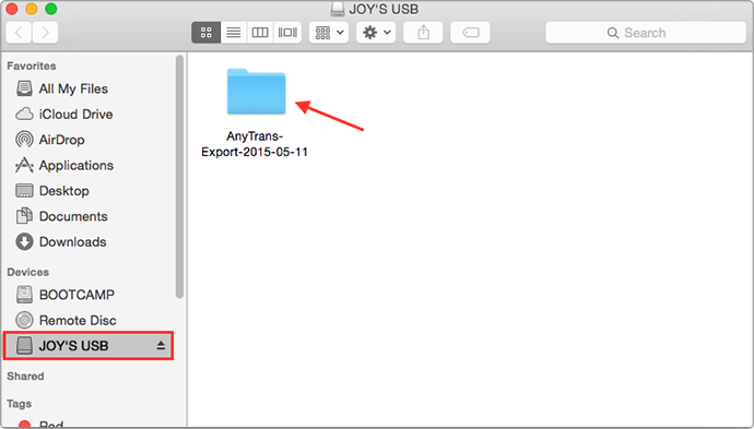 Transfer Photos from iPhone/iPad to a USB Flash Drive with AnyTrans