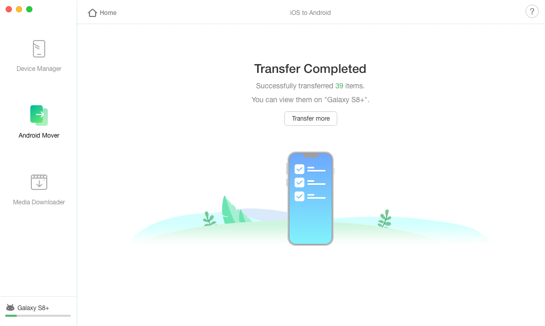 How to Transfer Photos from iPhone to Huawei via AnyTrans - Step 4