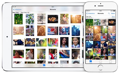 Transfer Photos from iPhone to iPad Air/mini
