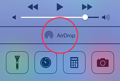 Transfer Photos from iPhone to iPad Using AirDrop