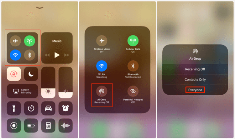 How to Transfer Photos from iPhone to iPhone with AirDrop