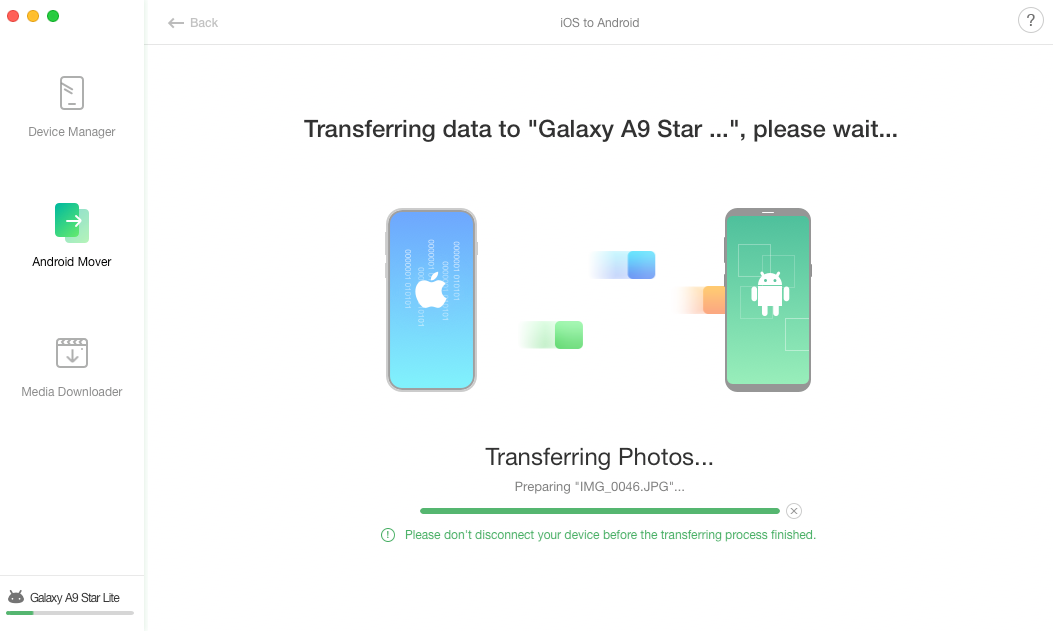 How to Transfer Photos from iPhone to Samsung Galaxy