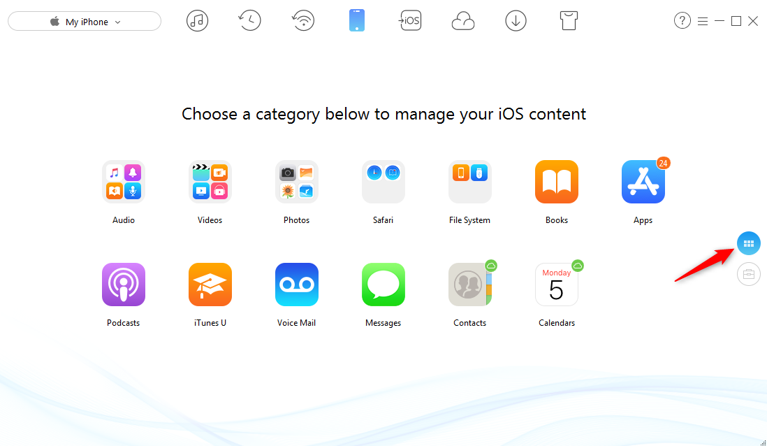 How to Transfer Photos from iPhone to Windows 8 - Step 4