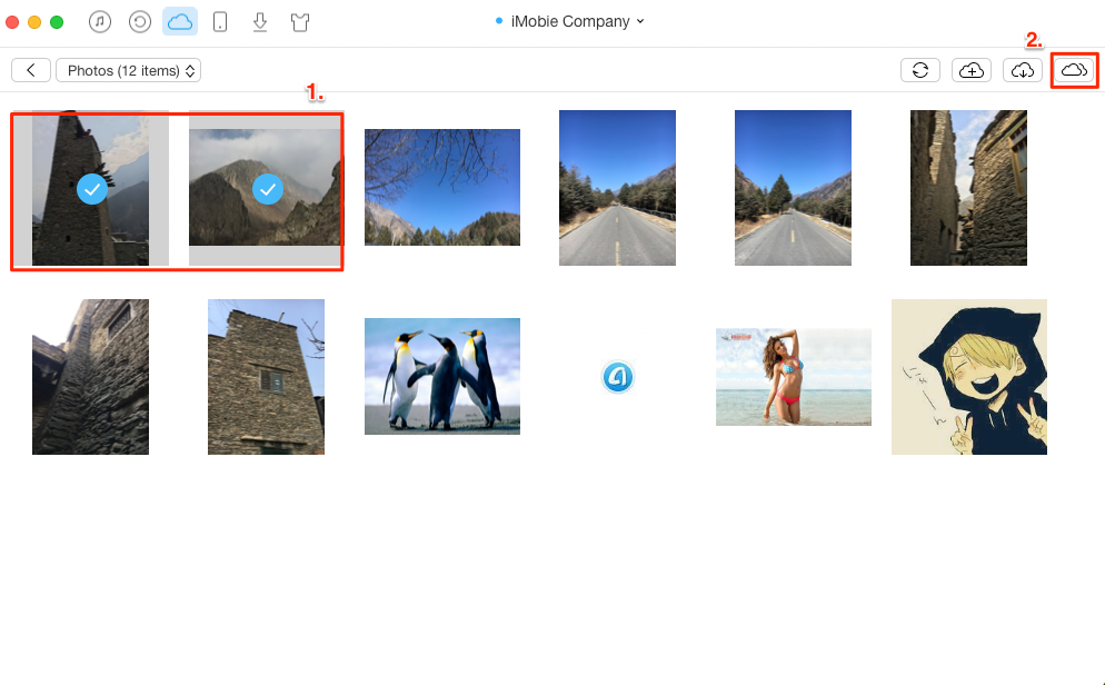 Share Photos Between Two iCloud Accounts – Step 3