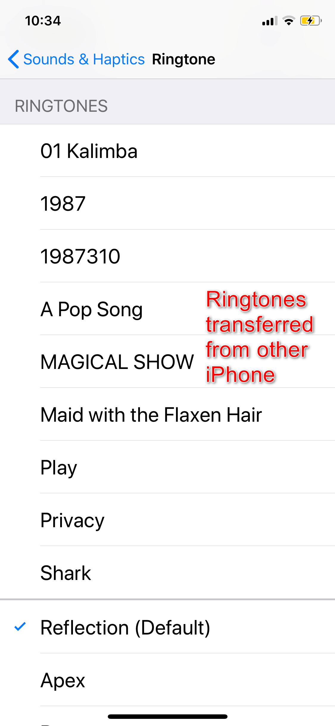 How to Transfer Ringtones from iPhone to iPhone with AnyTrans – Step 4