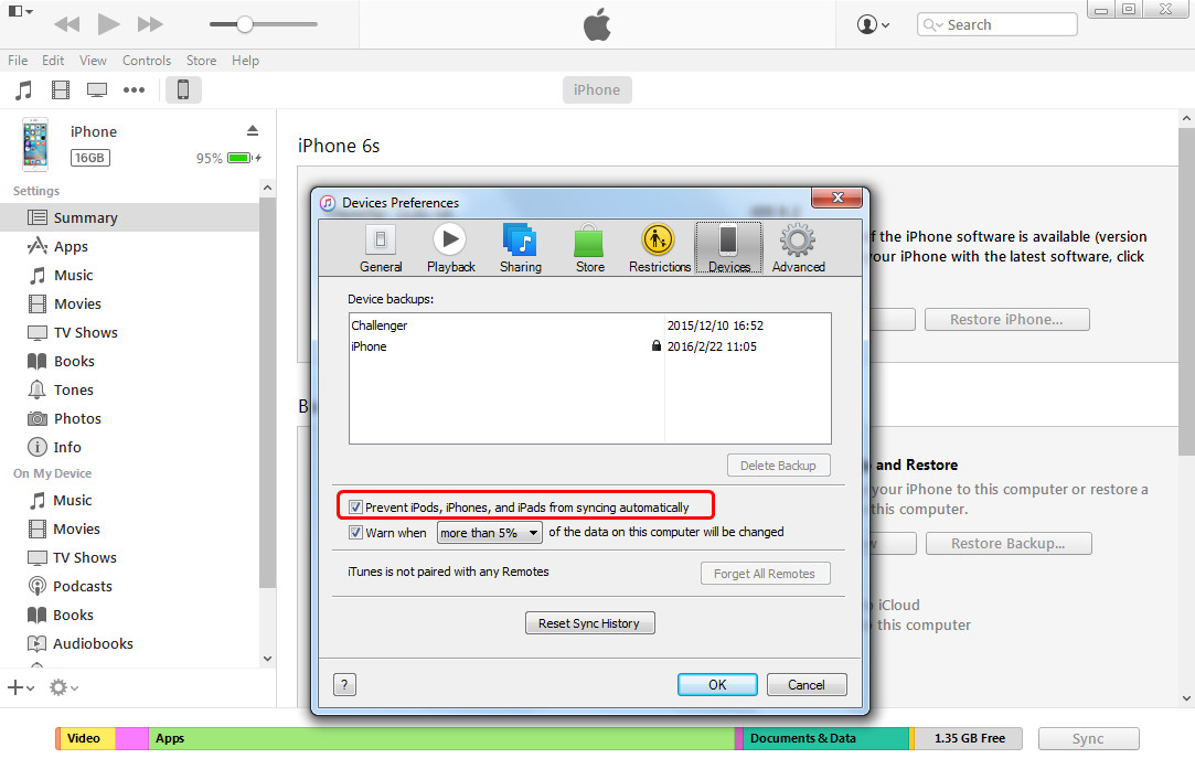How to Transfer Ringtones from iPhone to iPhone with iTunes - Step 1