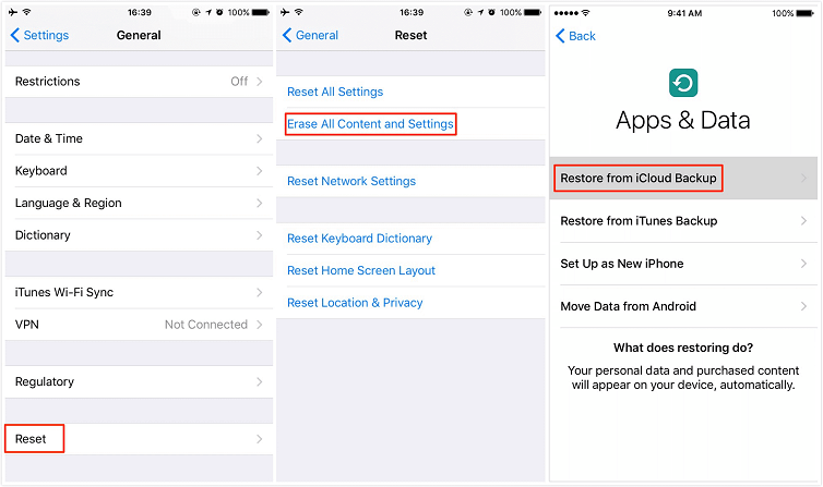 How to Transfer Messages from iPhone to iPhone with iCloud Backup