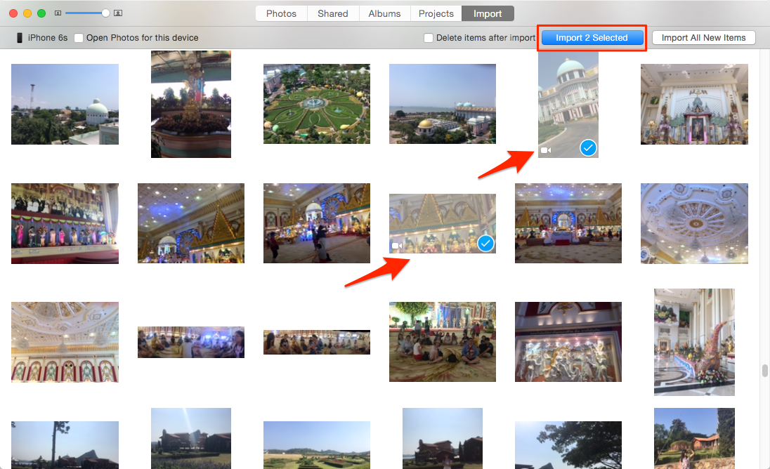 Import Videos from iPhone to Mac via Photos
