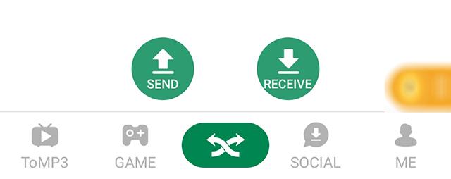 Send Videos via Xender