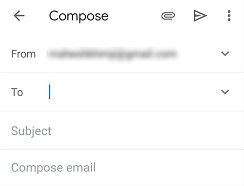 Enter Recipient's Email